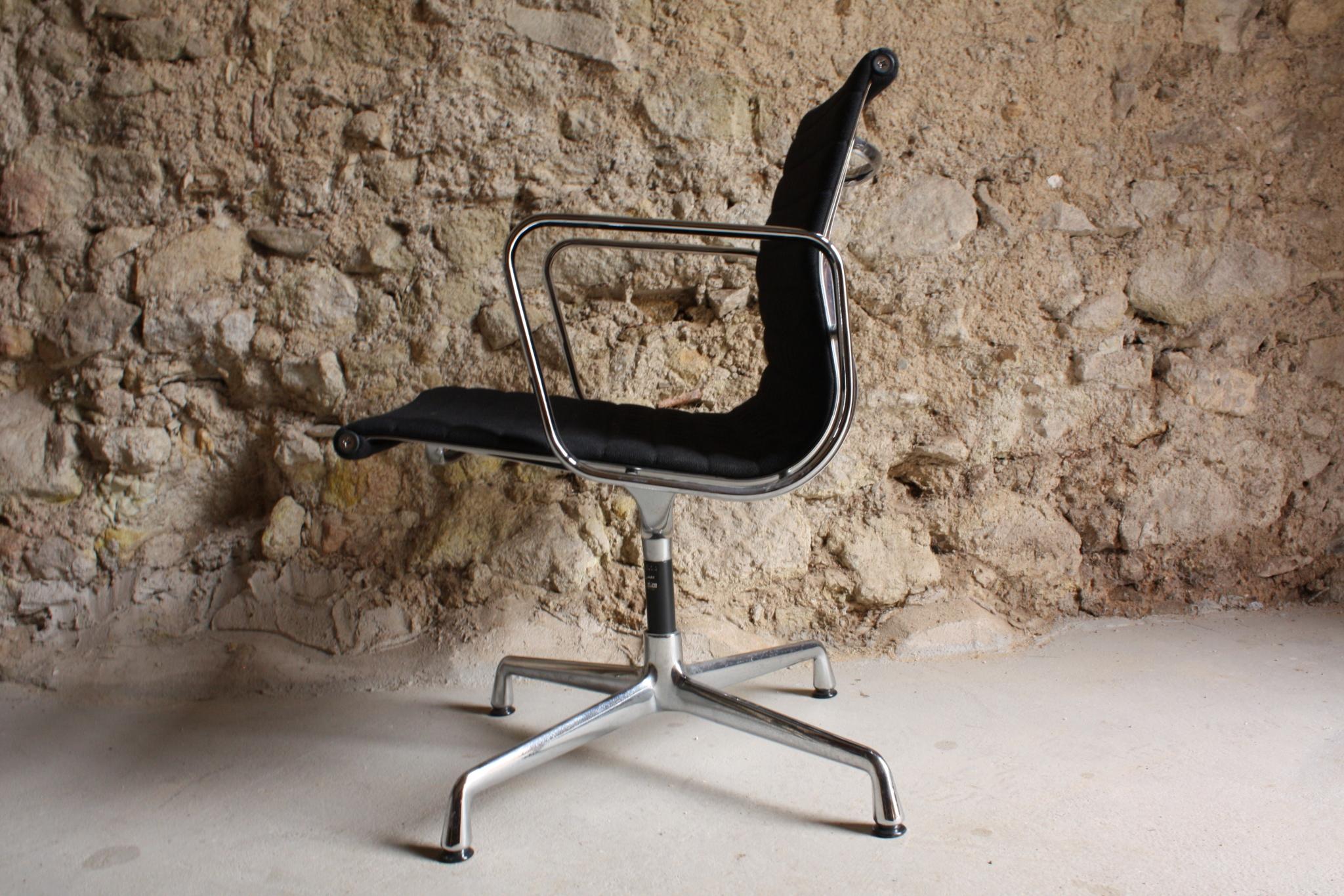 Eames Vitra Miller Aluminium Chair EA 107 (4)