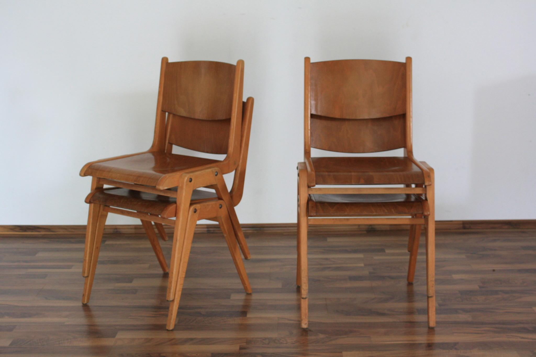 Holz Stühle Buche Stapel (21)