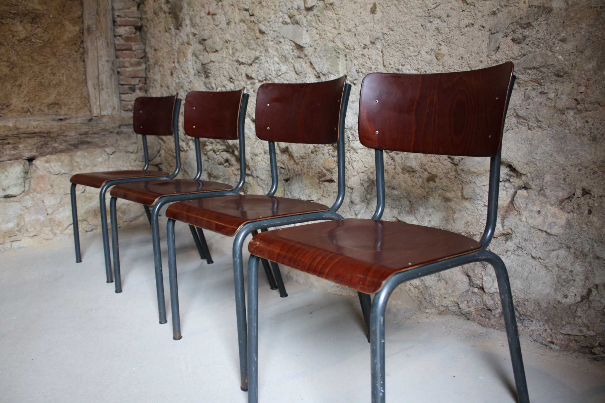 Industriestühle Werkstattstühle Kantinenstühle (1 v 1)   Design Ikonen