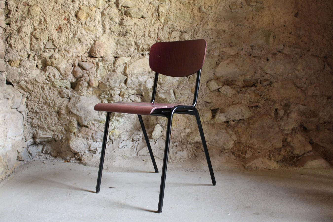 schulstuhle-schule-vintage-gebraucht-stahlrohr-holz-stuhl-1