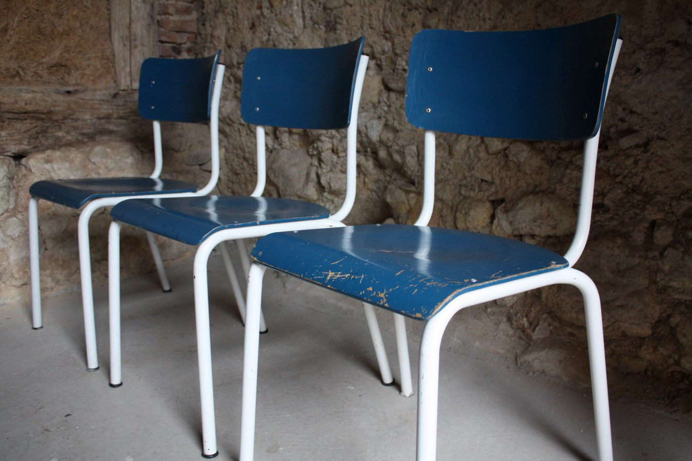 stuhl gebraucht bauhaus schulstuhl vintage mobel 7