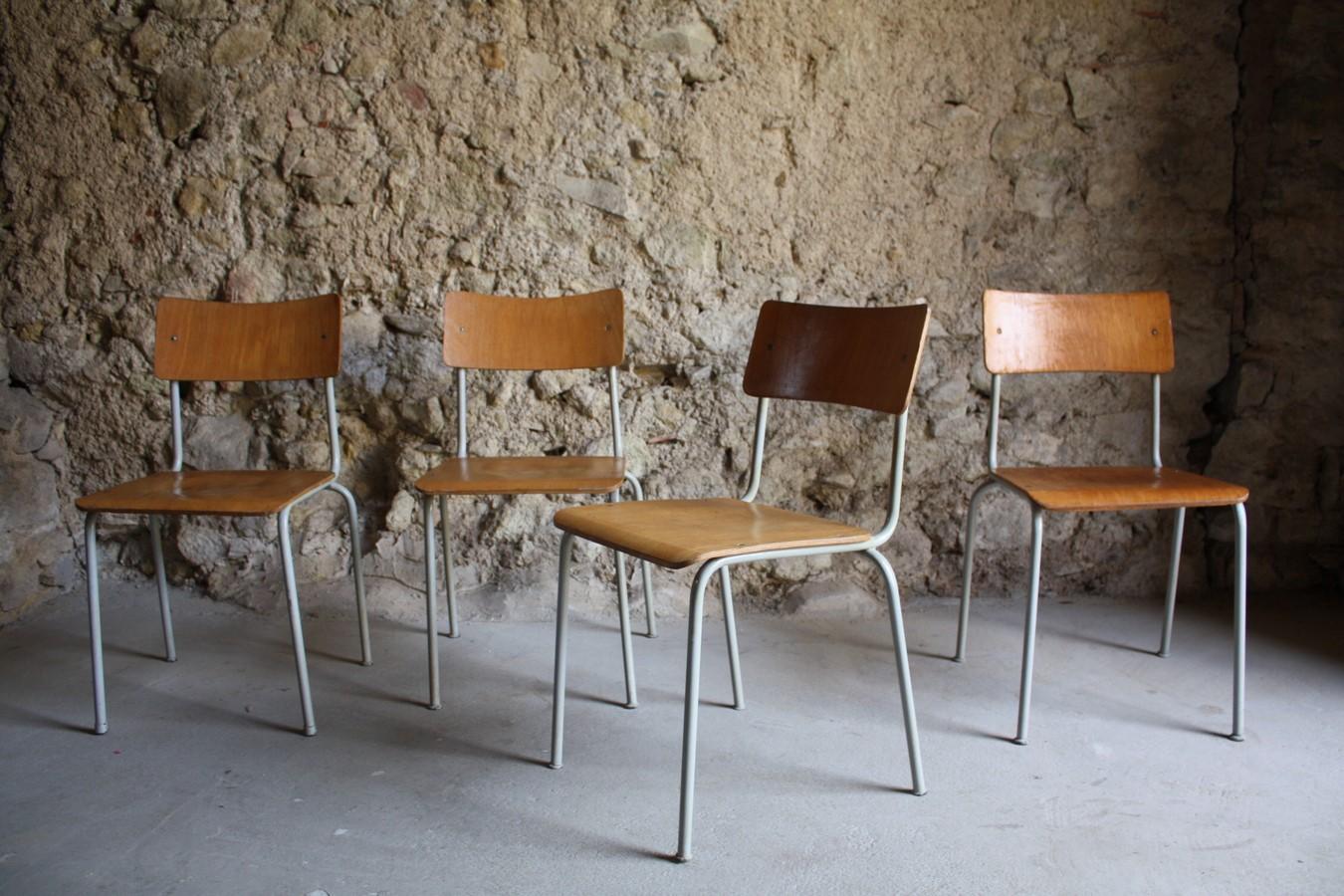 Loft Industrie Gebraucht Stühle Vintage Holz73A Design Stuhl CxreBdo