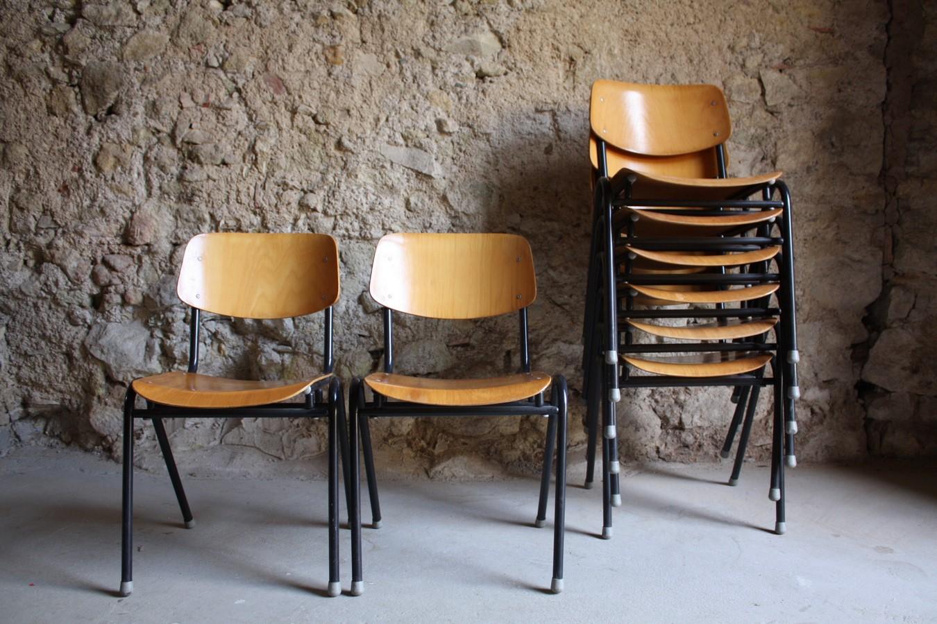 Schulst hle kantinenst hle werkstattst hle 1 v 30 for Stuhl industrial design