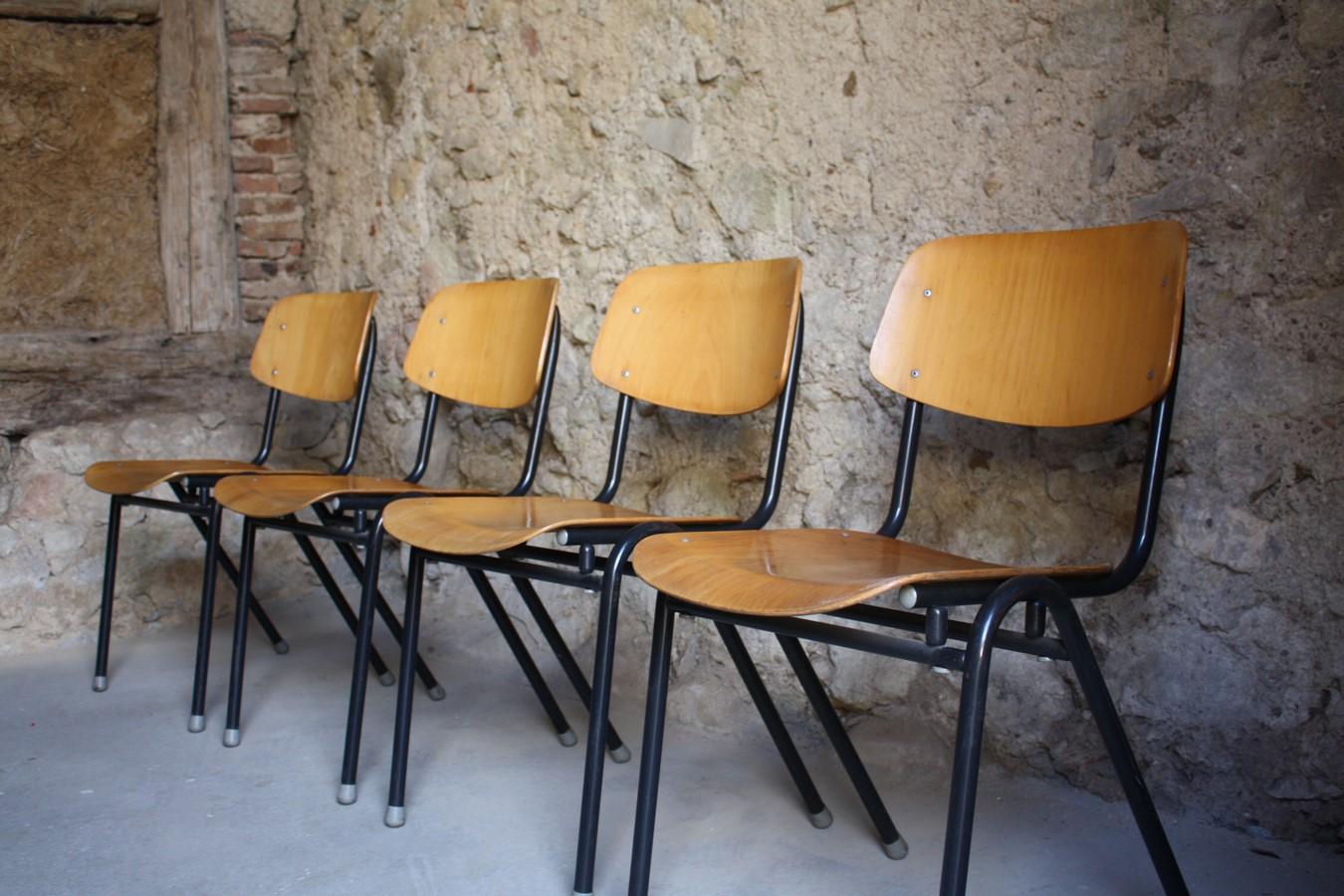 schulst hle kantinenst hle werkstattst hle 1 v 30 design ikonen. Black Bedroom Furniture Sets. Home Design Ideas