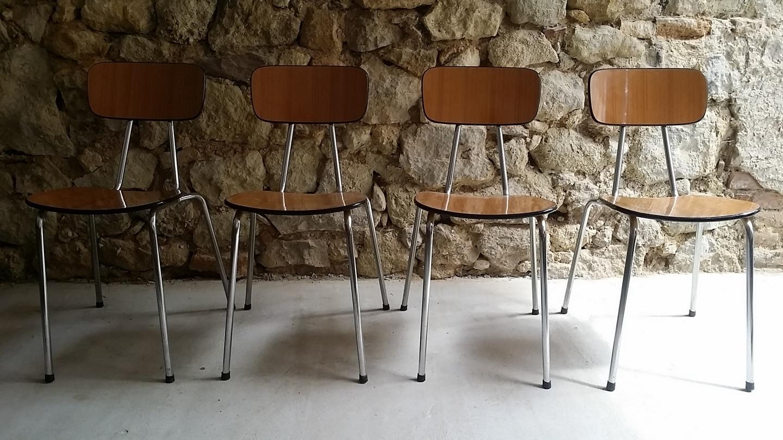 Stuhl Mid Century Modern Küchenstuhl Vintage Loft (2) a