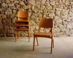 Stuehle Stoelcker Bombenstabil 1930 1950 alt Vintage Chair retro Küchenstuhl