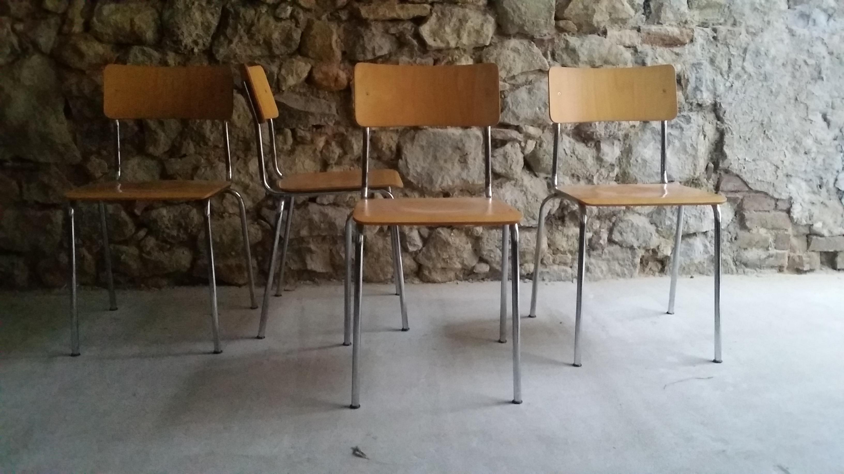 Vintage Chairs Loft Industrie Design Industrial Stühle gebraucht (7)