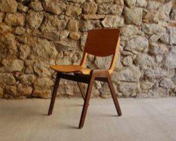 Stuhl Stühle Thonet Vintage Used 2hand gebraucht 1960 Holzstuhl stapelbar alt retro antik Design Klassiker Design Ikonen