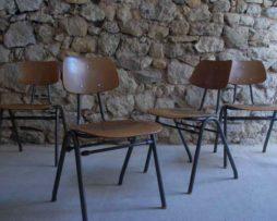 Vintage Schulstühle gebraucht 1960 Industrial Design Mid Modern Retro Vintage