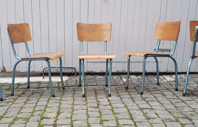 Urban Industrial Stühle Werkstatt Stühle Rovac Stahl Loft Vintage Design Klassiker (1) 2