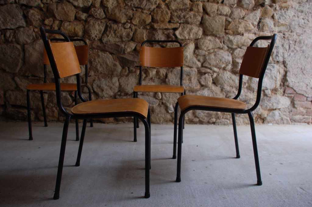 Gispen Stuhl Chair Industrial Design Klassiker 1950 1960 Vintage Retro Antik (4) 2