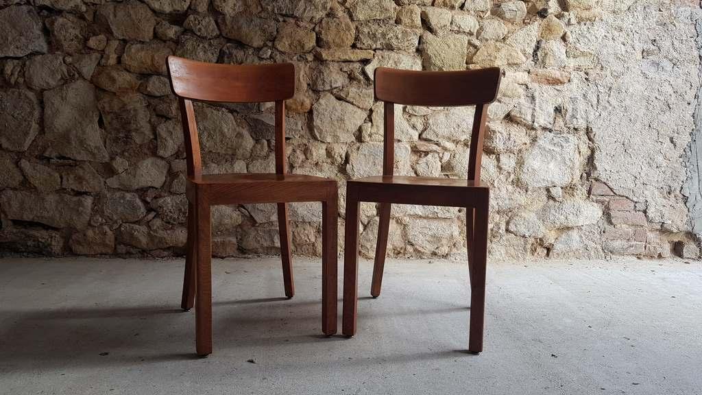 Frankfurter Stühle gebraucht vintage antik used 2hand Antike Holzstühle (3)
