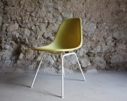 Eames Vitra Herman Miller Side Chair Fiberglas Designer Stühle Stuhl gebraucht Vintage Antik