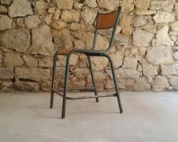 Mullca Französisch 50er Jahre Vintage Loft Klassiker Stahlrohr Rowac Industrial Bar Hocker