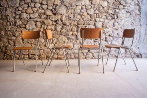 Stühle alt gebraucht vintage antik mid century modern industrial design ikonen