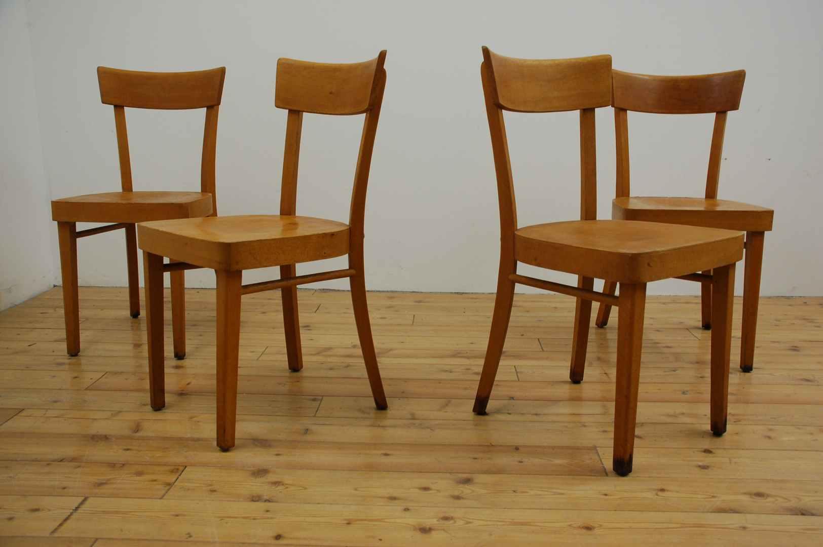 Frankfurter Stuhl Buche Holz gebraucht antik vintage alt gebraucht 1950 1960