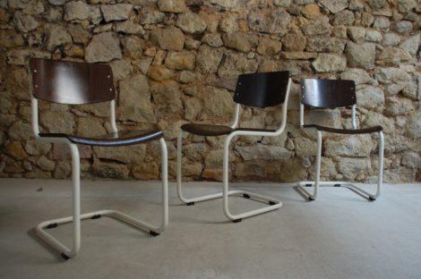 Thonet Bauhaus Mart Stam S43 Stuhl Chair used vintage mid century