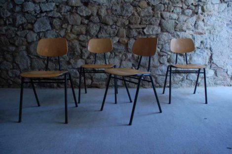 Vintage Schulstühle