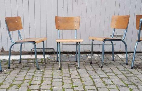 Urban Industrial Stühle Werkstatt Stühle Rovac Stahl Loft Vintage Design Klassiker