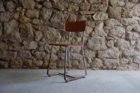 Antik Vintage Retro Stuhl Schulstuhl Hohenloher 1940 1950