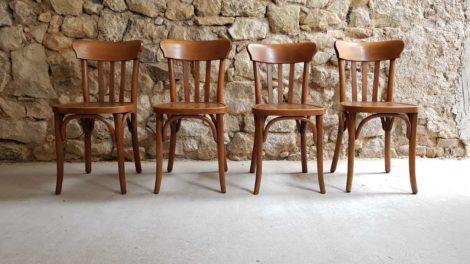 Bistro Stühle Gaststätte Holzstühle Antik Luterma 1920 Buche gebraucht