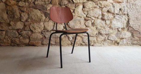 Ferdinand Kramer Designer Stuhl Uni Frankfurt Armlehne Midcentury Modern vintage alt gebraucht